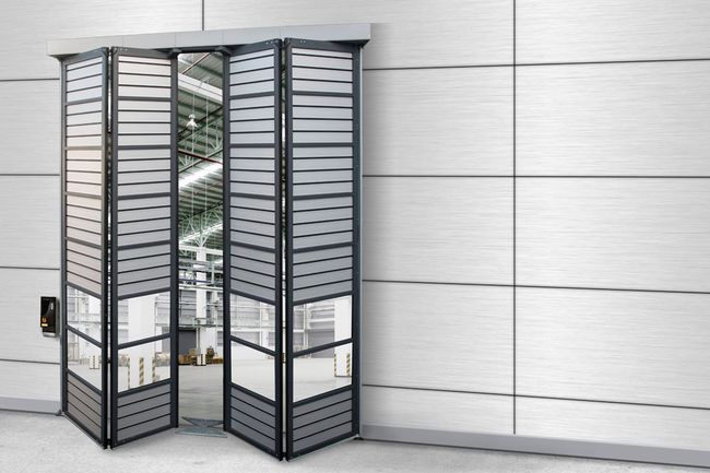 Industrial door folding door EFA-SFT® Therm
