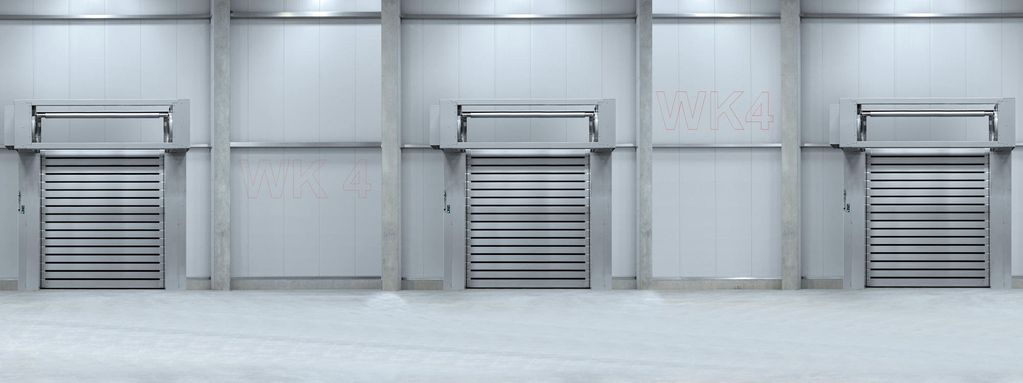 High-speed spiral door EFA-SST® Secure